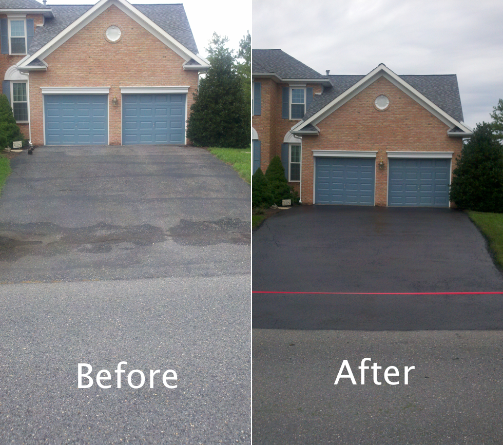 Driveway Sealcoating Cloverhill In Frederick Md 21701