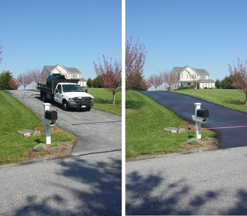 Driveway Sealcoating Mt. Airy, MD